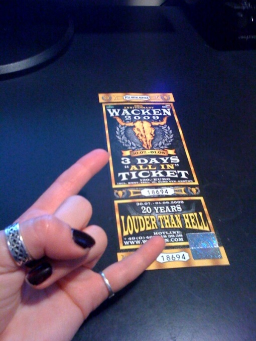 wacken-ticket