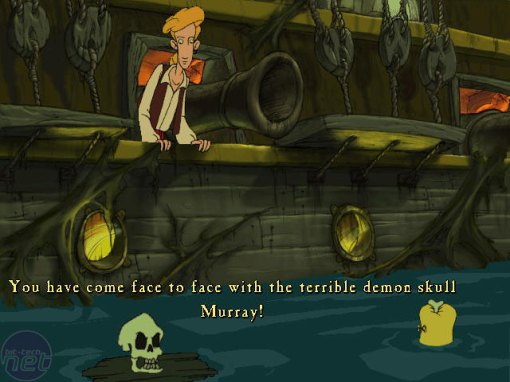 Plus this game introduces Muarry, the mighty demonic skull!