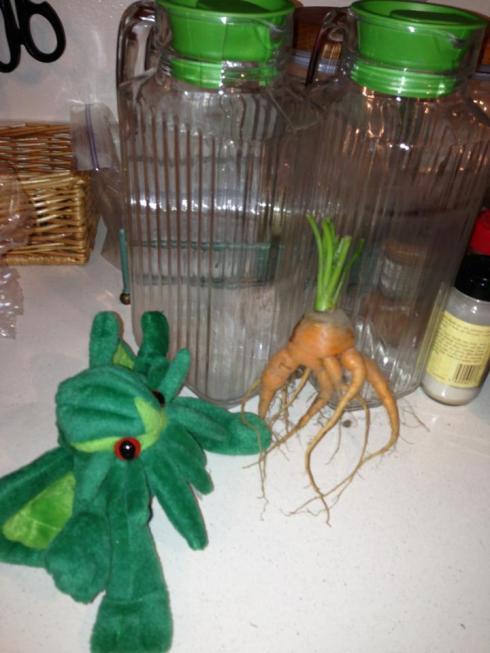 carrot cthulu